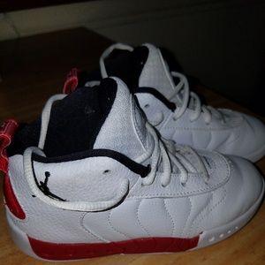 Toddler boy's Jordan's sneakers, sz 10
